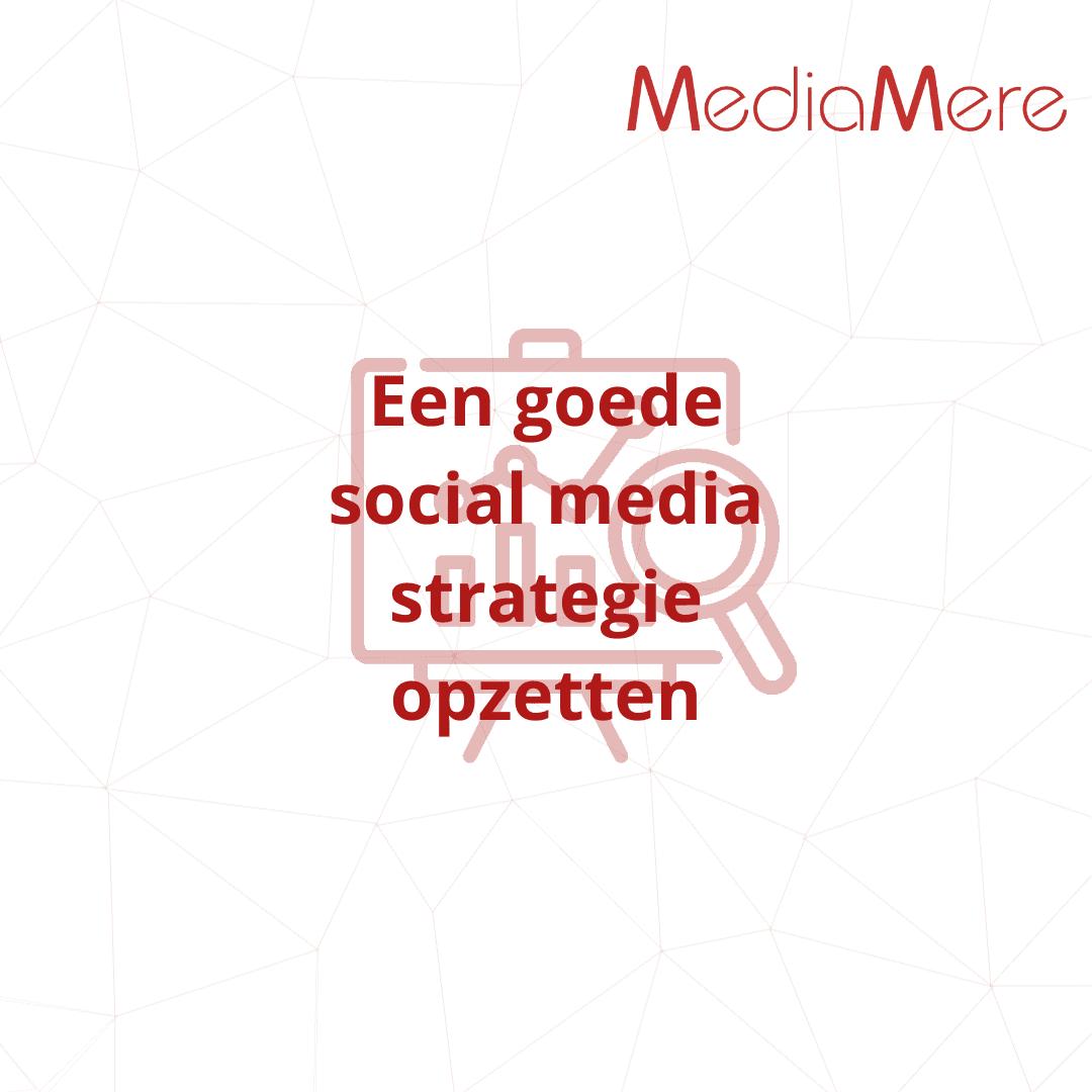 Een goede social media strategie opzetten